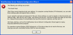 """How can I resolve the error """"Client Setup cannot migrate private user settings"""" on SBS 2003?"""