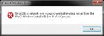 Error 1315 when removing D-Link D-ViewCam
