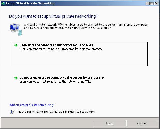 Test vpn from outside