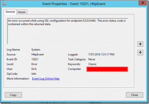 Exchange 2013 – Event ID 15021 while removing TrendMicro WFBS MSA